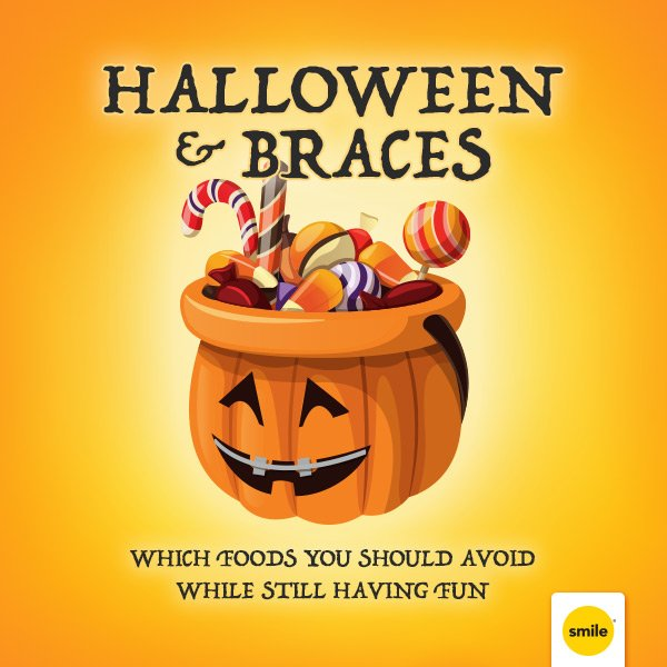Tips For Taking Care of Braces on Halloween