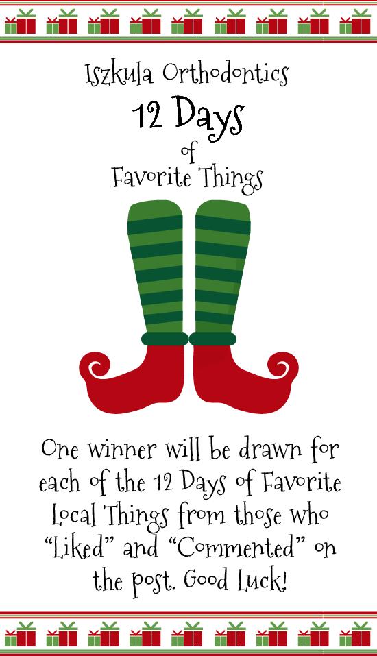 12 Days of Favorite Things