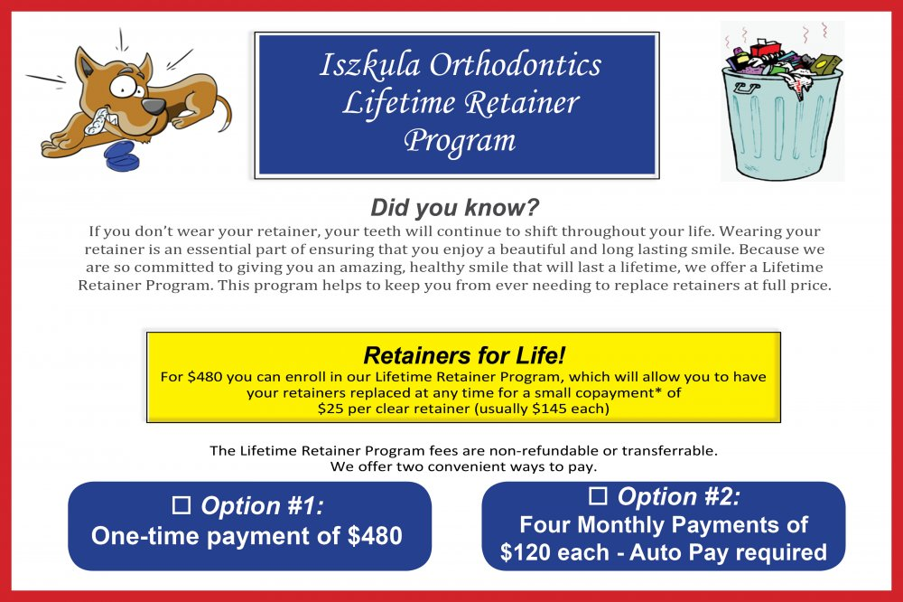 Lifetime Retainer Program